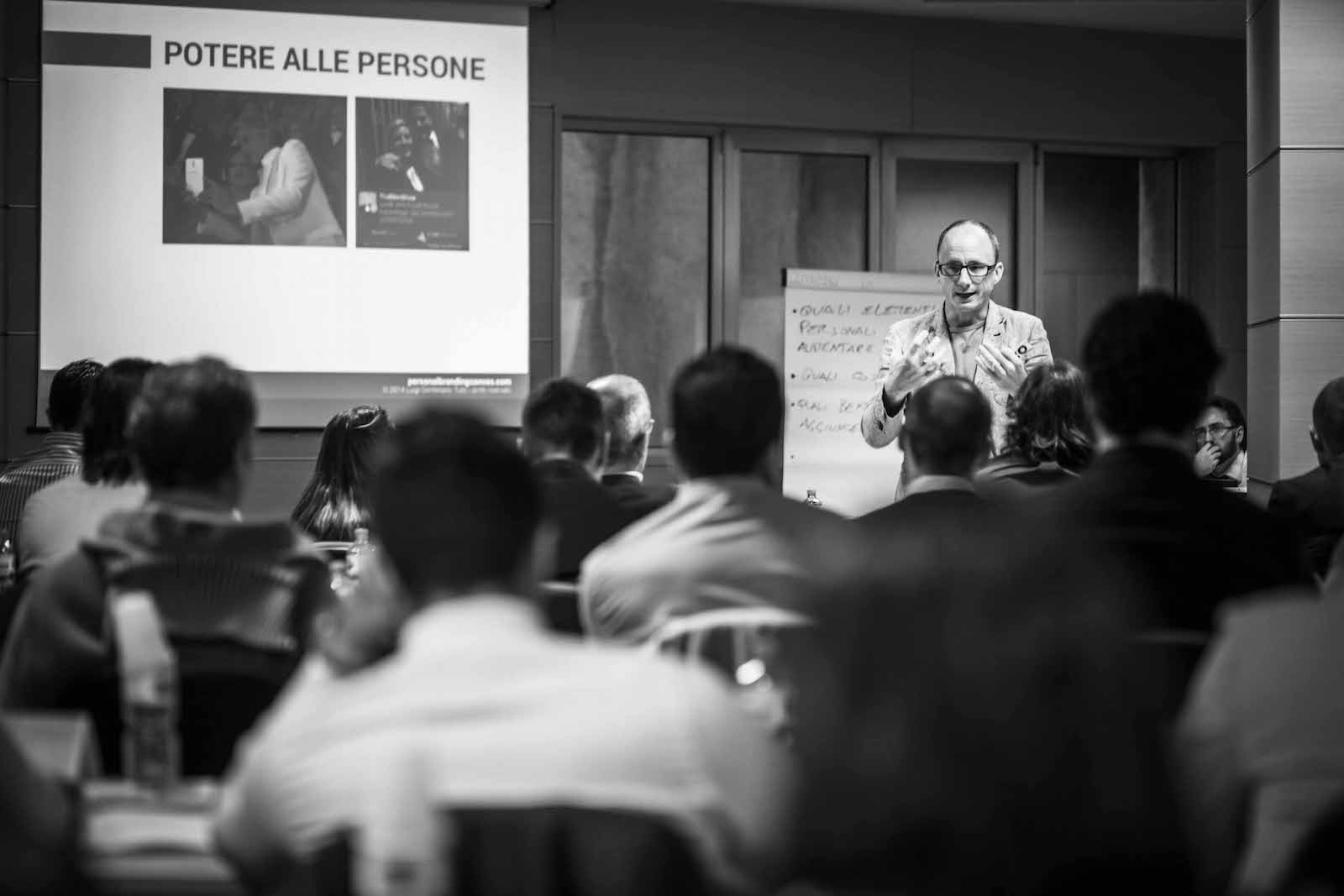 Formazione con Luigi Centenaro al Master Professione Agente - 18 settembre 2014 - Milano per Allianz Spa