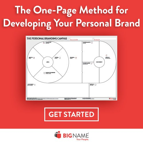 Download for free the one page method for your personal branding strategy