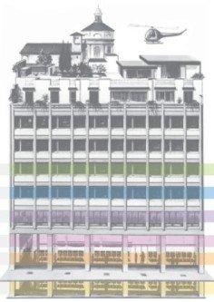 La grande Libreria HOEPLI a Milano