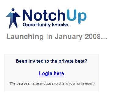 notchup beta