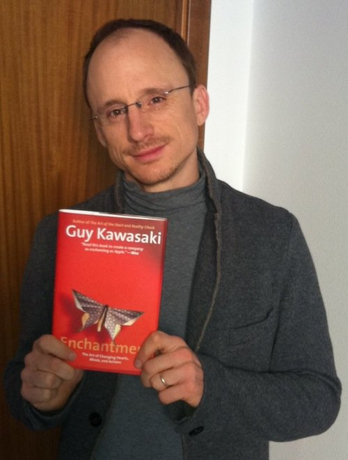 Luigi Centenaro con Enchantment di Guy Kawasaki