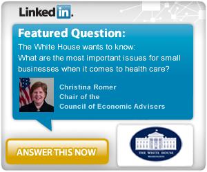 La domanda della Casa Bianca su LinkedIn