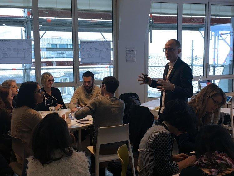 Il corso di Personal Branding Canvas a LinkedIn a Parigi