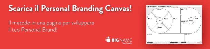 Scarica il Personal Branding Canvas