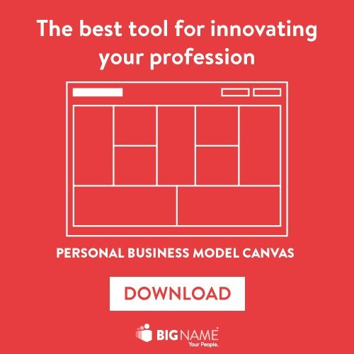 Personal Business Model Canvas in Italia - Business Model You®